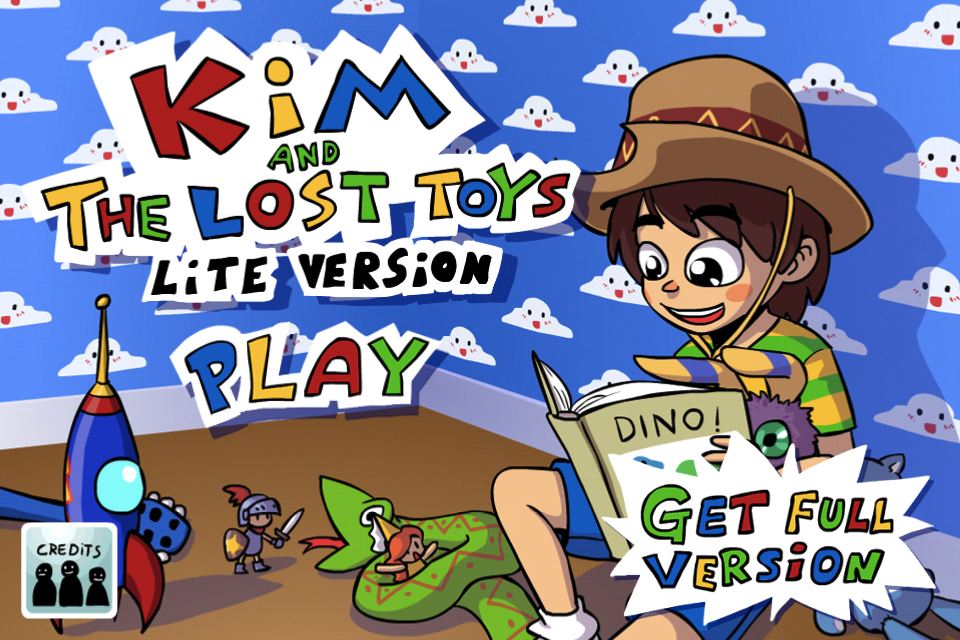 Screenshot Kim and The Lost Toys Lite