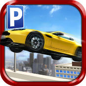 Download Roof Jumping Stunt Driving Parking Simulator - Real Car Racing Test Sim Run Race Games free for iPhone, iPod and iPad